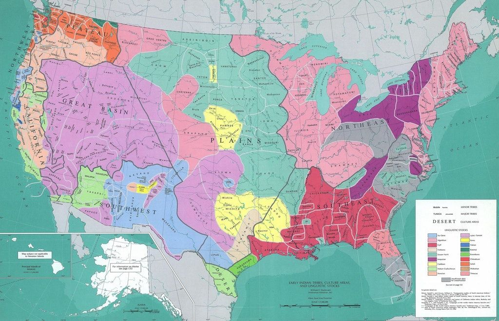 #language  #map shows #USA before colonization. Neither English nor Spanish to be found here. Source:  https:// buff.ly/2giCi4n  &nbsp;   <br>http://pic.twitter.com/XM85U6pK4D