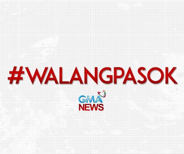 #BREAKING: Pasok sa lahat ng antas sa mga pampubliko at pribadong paaralan sa Metro Manila, bukas, October 16, sinuspinde ng Malakanyang.