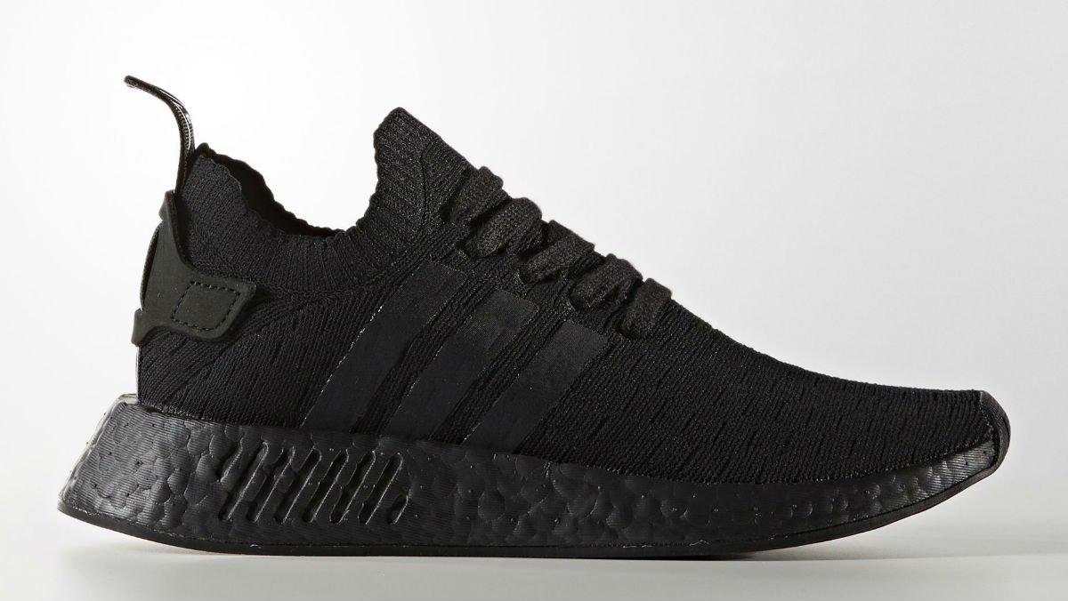 Triple Black  Adidas NMD R2 drops next month. https   t. 2c7d0c9f7