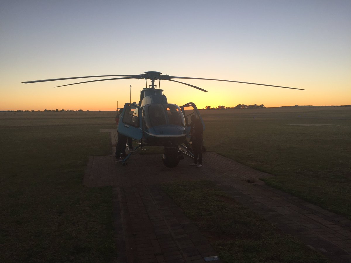 The #eyeinthesky is at the #ORTambo Mara...