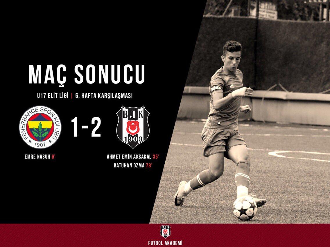 U17 Takımımız, deplasmanda Fenerbahçe'yi...