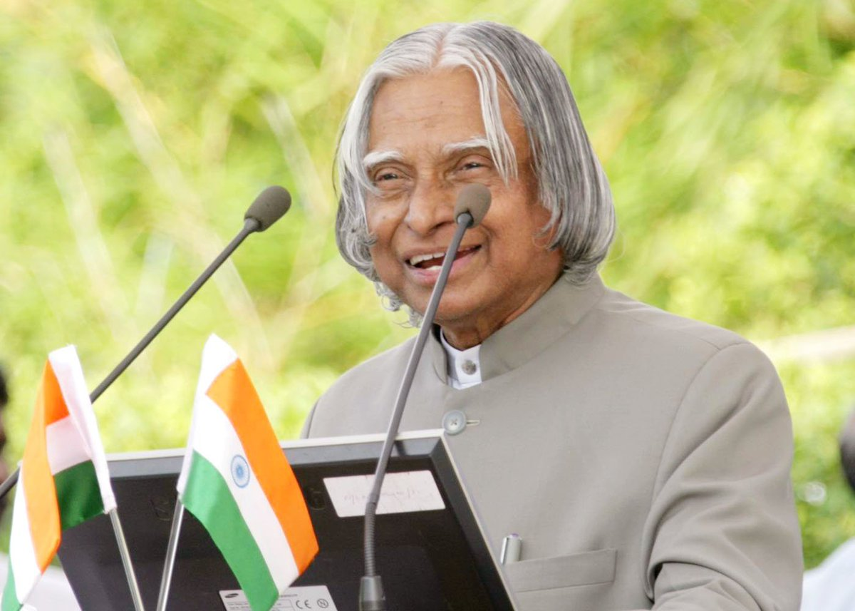 Country will never forget contribution of late President #APJAbdulKalam in nation building: President #RamNathKovind