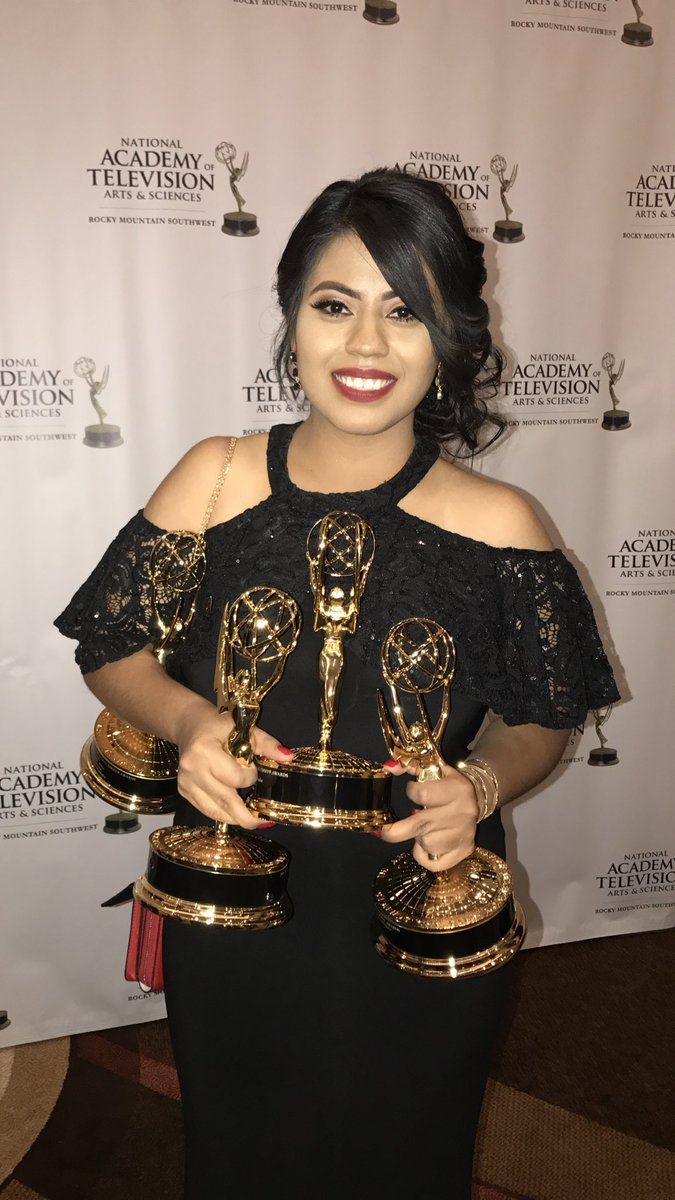 I think I can update my Twitter bio to &quot;4x Emmy-winning reporter&quot;  my first #Emmys night was one to remember!!! <br>http://pic.twitter.com/bLsvNaXNGR