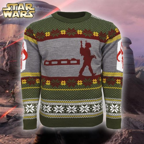 Boba Fett Christmas Sweater.Numskull Designs On Twitter Bring This Official