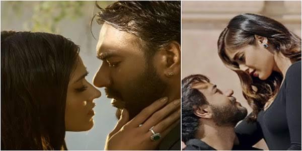 Romance of year #MereRashkeQamar wid @ajaydevgn @Ileana_Official suprb chemistry thanks @StarGoldIndia fr d bst entertainment #Baadshaho <br>http://pic.twitter.com/eBa7r7yj2q