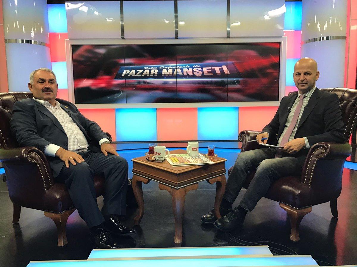 An itibarı ile Akit Tv'de Fatin Dağıstanlı'nın konuğuyuz. #PazarManset...