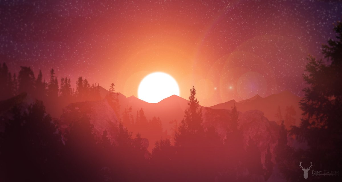 Sunset before the nightmare. 2D ingame art #indiegame #indiedev #indieauthor #gamedev #games #characterdesign #IndieGameDev #2D #sunset<br>http://pic.twitter.com/go4rDYEp0N