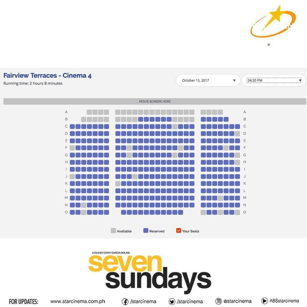#SevenSundays is almost sold out at  Fairview Terraces! Iba rin! Salamat po! #SevenSundays  #SevenSundaysNowShowing #SevenSundaysWeekend #H… <br>http://pic.twitter.com/YjKP8Lrvx1