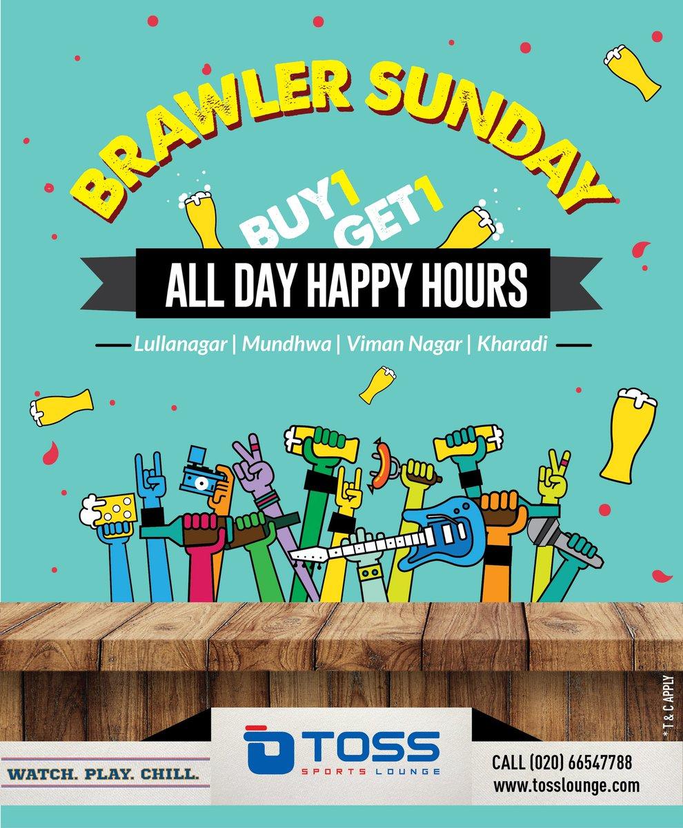 It is #brawler #sunday #sunday #funday #weekend #plan eat #drink #chill #good #tosslounge #sportslounge #sports #bar @tosslounge<br>http://pic.twitter.com/01eKIN9zaU