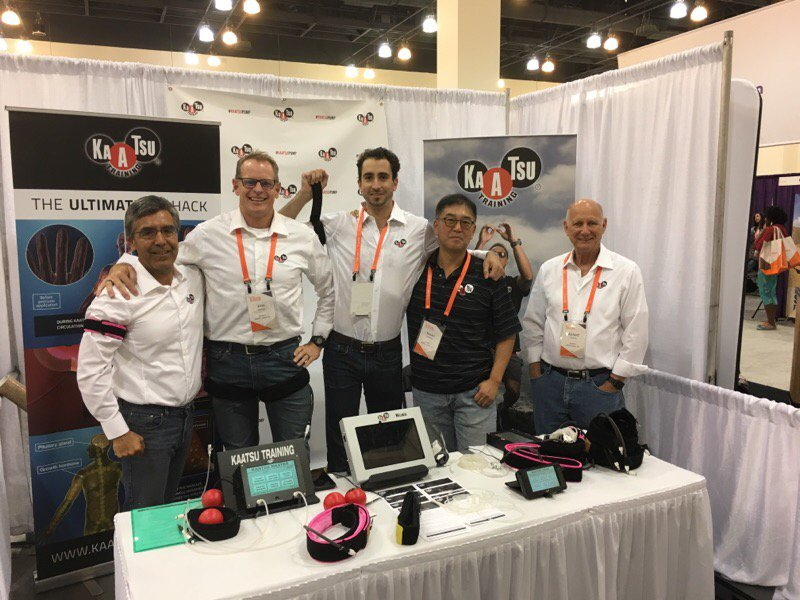 The A-team at the #KAATSU booth... find out about the ultimate #biohack at @bpnutrition #BPcon2017 #strength #bfm <br>http://pic.twitter.com/KsUnwh7PU8