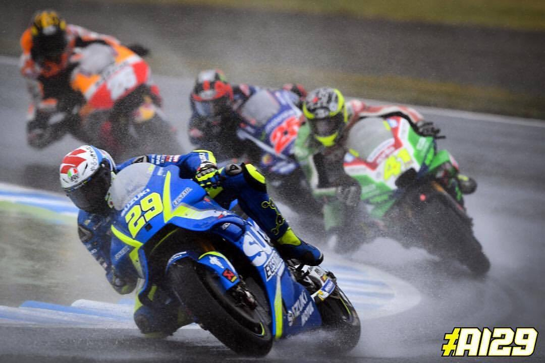 Grazie a Suzuki e alla mia squadra! Io ci credo! #JapaneseGP 🇯🇵 @suzukimotogp @motogp #suzuking #maniac #ai29