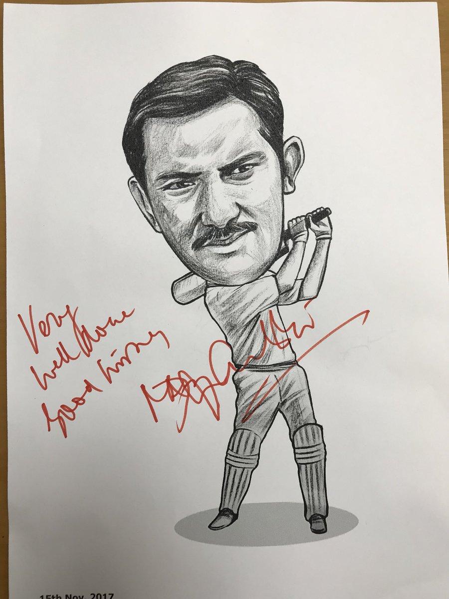 Mohammed Azharuddin On Twitter Thanks Rajuparmar For Such A Wonderful Caricature Of Minelmsgujrat Ahmedabad