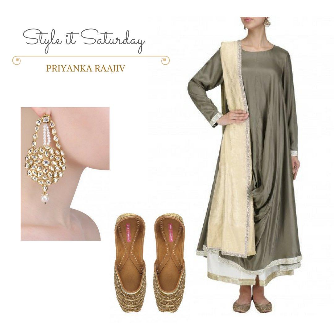 Style it Saturday! #priyankaraajiv #fashiondesigner #fashion #festivewear #india #womenswear #dubai #uae #dubaibiz #london #indianwear<br>http://pic.twitter.com/IQSNxgZtIz