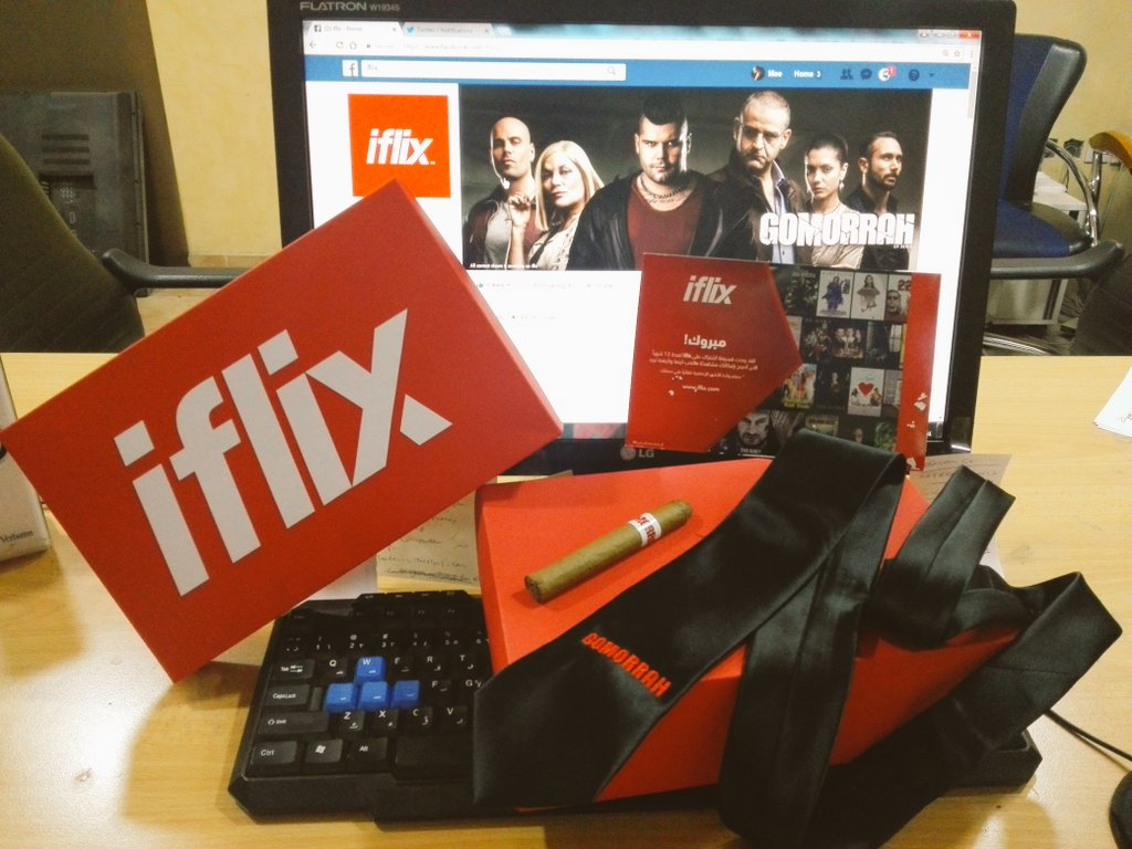 -Many thanks @iflixJO for this Cool Gift! Can't Wait to start using your Services and watch the latest Series &Movies!  #Jordan #IFlix #HKJ https://t.co/Mnq6YKAdBA