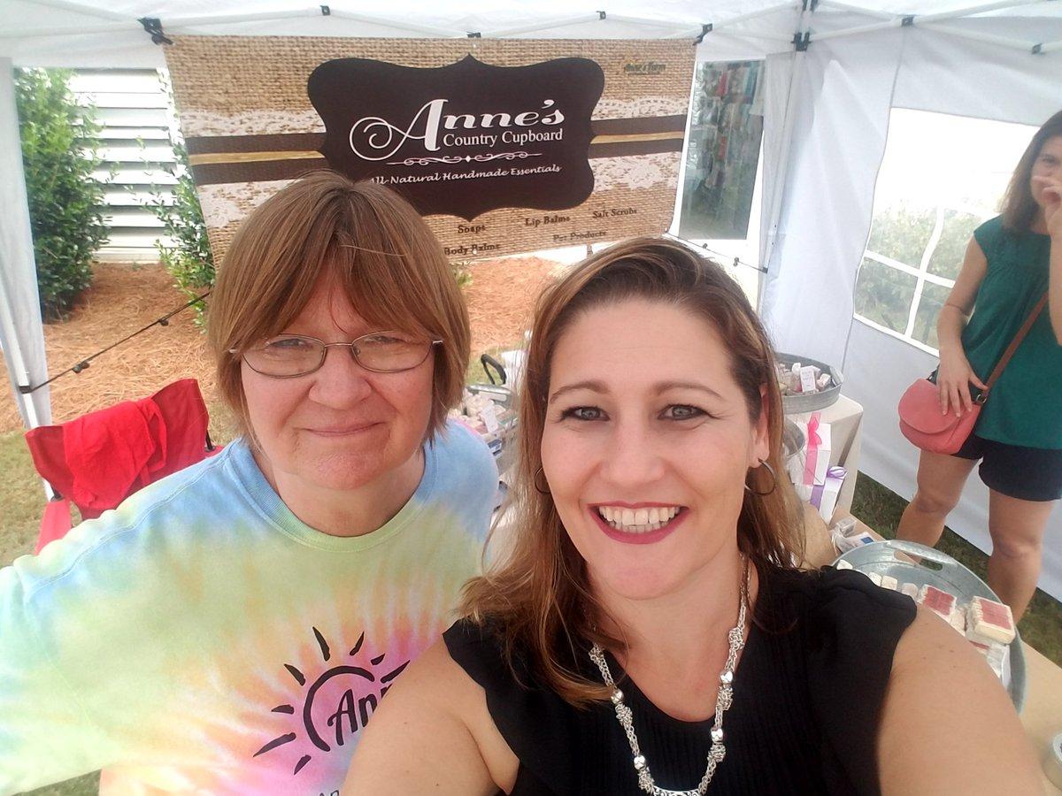 #LisaK and #FarmerAnne At @ArtinthePark Evans, GA