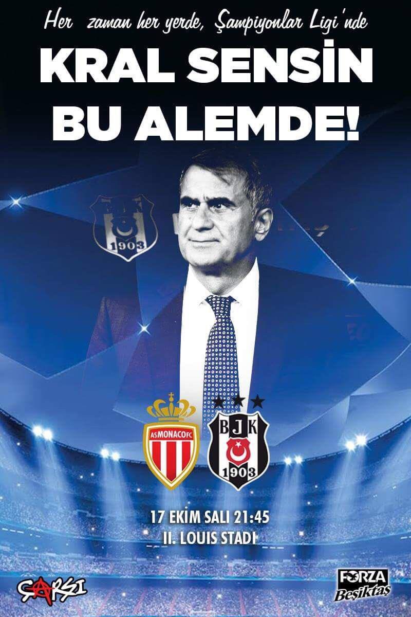 Şampiyonların ligindeyiz! Monaco - Beşik...