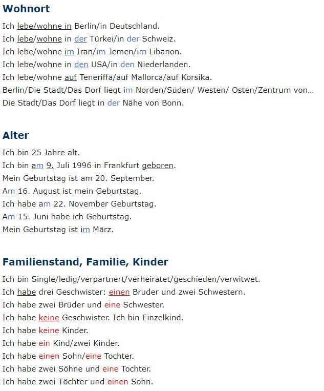 Deutsch Lernen On Twitter Fur A1 Learngerman Almancaogren