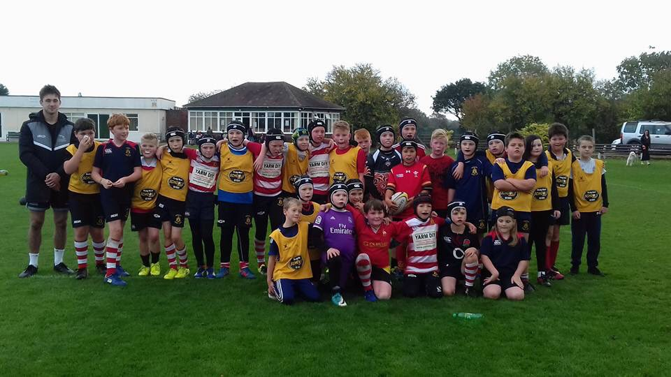 Great to see @FalconsRugby coaching our future stars this morning. #Under11s #rugbyfamily <br>http://pic.twitter.com/U15D4uUtEW