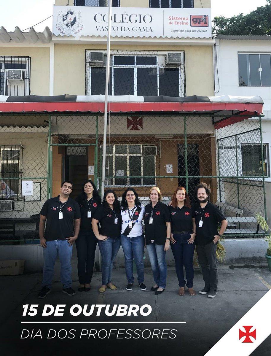 Neste 15 de outubro, uma homenagem especial aos professores do Colégio Vasco da Gama! Mais do que atletas, o nosso clube forma cidadãos!