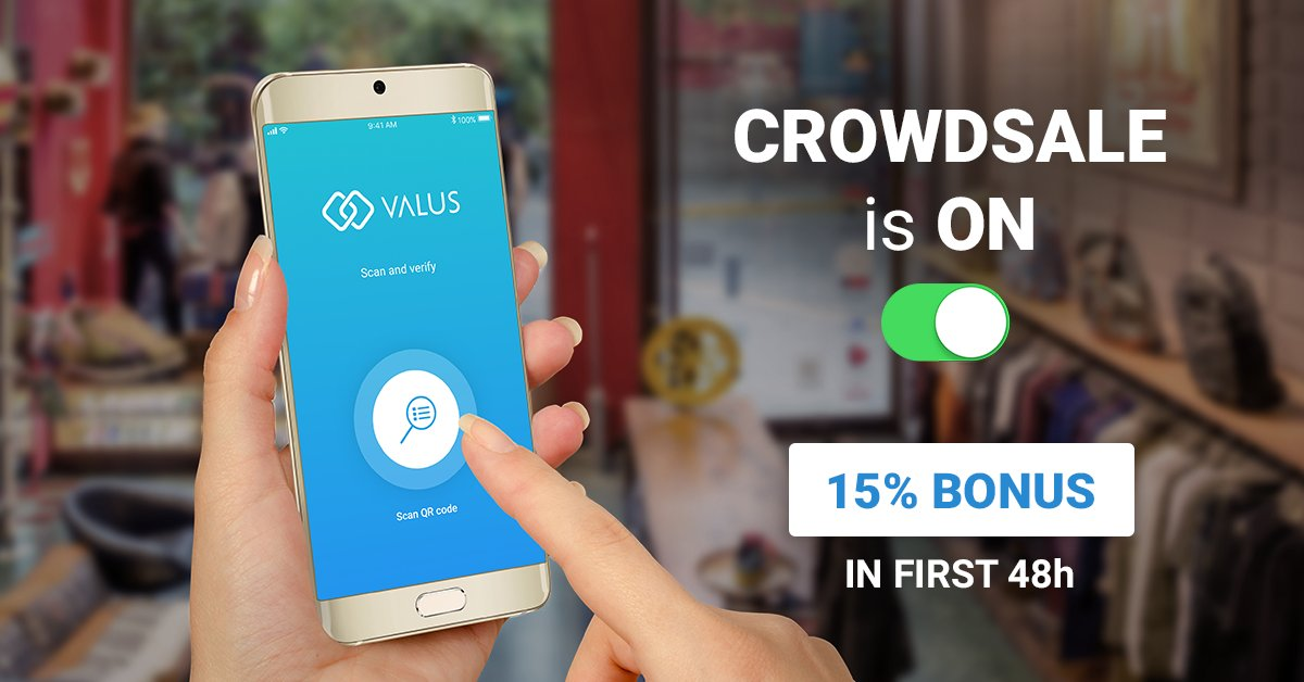 [few HOURS LEFT for 15% DISCOUNT] Hurry UP and don&#39;t miss the oportunuty!  https:// crowdsale.valus.one / &nbsp;    #Valus #crowdsale<br>http://pic.twitter.com/5ldAiivOxJ