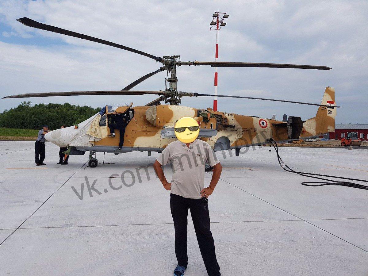 """مصر تستعد لإستلام ـ46 مروحية """"التمساح"""" لتكون أول دولة في العالم تحصل علي طراز'' كا-52'' من روسيا - صفحة 5 DMLgqNnW4AA3wyz"""