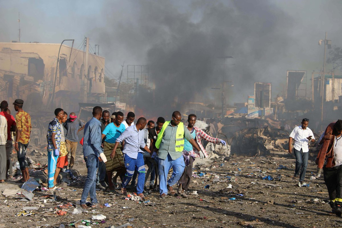 Somalia has suffered its deadliest single blast. At least 189 people were killed and more than 200 injured by a truck bomb in Mogadishu.