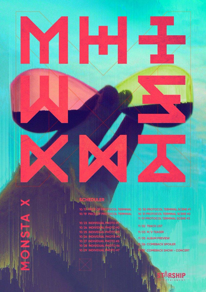 [#MONSTA_X]  20171107 #몬스타엑스 NEW ALBUM #...