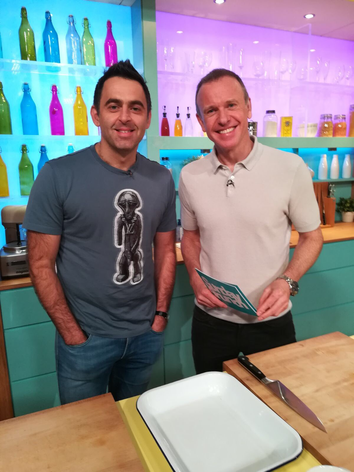 RT @ronnieo147: Great time today, thanks for having me @SundayBrunchC4 https://t.co/mYP27OmrxL