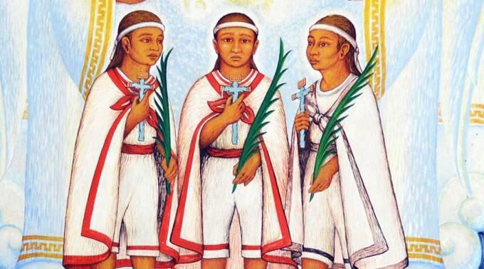 """Alberto Medel on Twitter: """"San Cristóbal, San Antonio y San Juan, Mártires  de Tlaxcala y primeros testigos de la fe del Nuevo Mundo, rueguen por  nosotros.… https://t.co/uNEJl3npdS"""""""