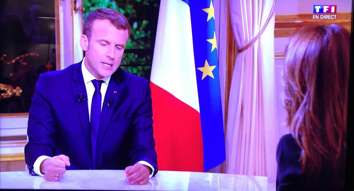 Macron annonce une taxe sur la jouissance : «Si vous décidez de jouir de votre richesse sans tirer l'économie vous serez taxé» #TF1EMacron