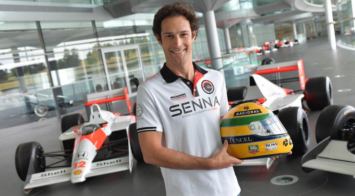 Feliz aniversário Bruno Senna 🍾 #Parabén...