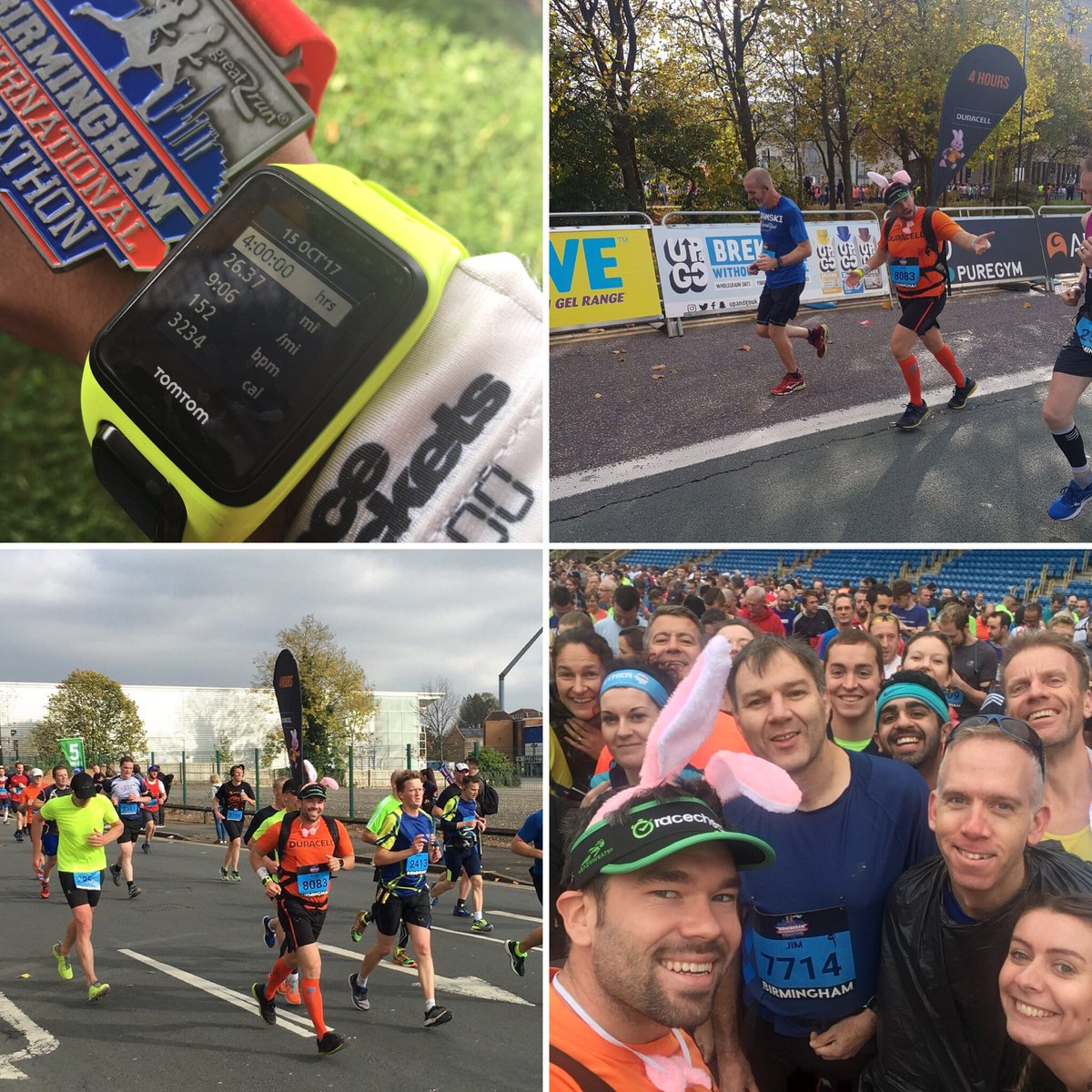Very happy pacing my 39th event at #BirminghamMarathon pacing sub4 #funbus read all about it here https://t.co/64VLoKia9l #ukRunChat https://t.co/PkgqRkJwpf