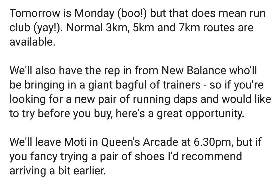 Details for tomorrow's run club. https:/...