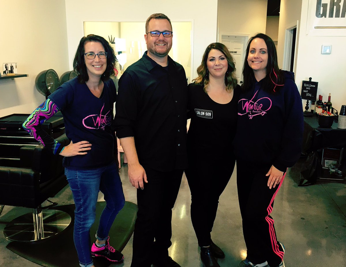Warrior Sisterhood On Twitter Thanks To Salon 509 In Kennewick For