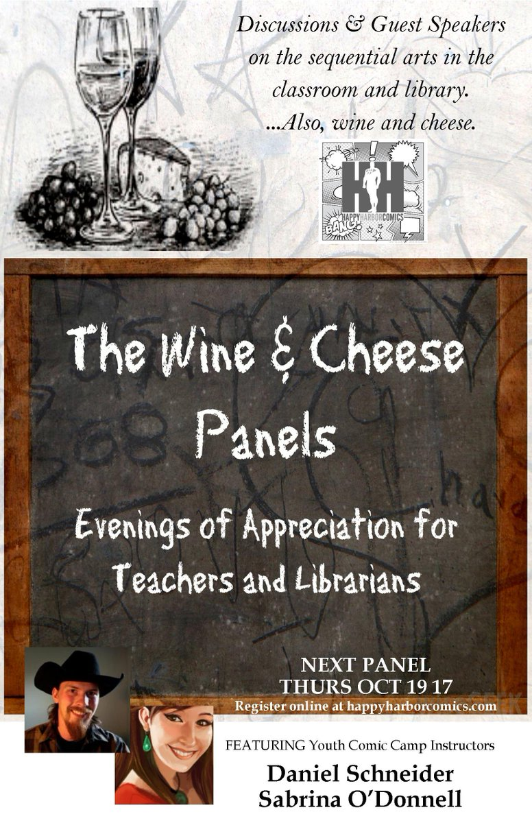 Monday is deadline to register for the free #teachers &amp; #librarians Oct 19 Wine &amp; Cheese panel!  http:// ow.ly/pAxp30fSowu  &nbsp;   @AlbertaEd @EPLdotCA<br>http://pic.twitter.com/YuvJIiEIXY