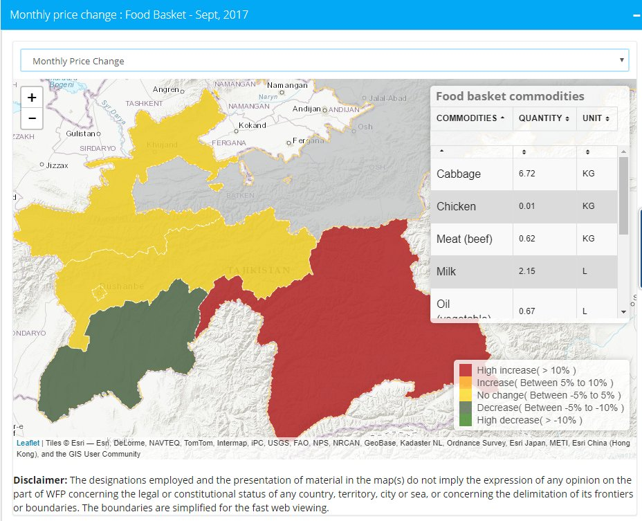 WFP SNAP On Twitter Sign Of Recovery In Tajikistan Economy But - Middle east map dushanbe