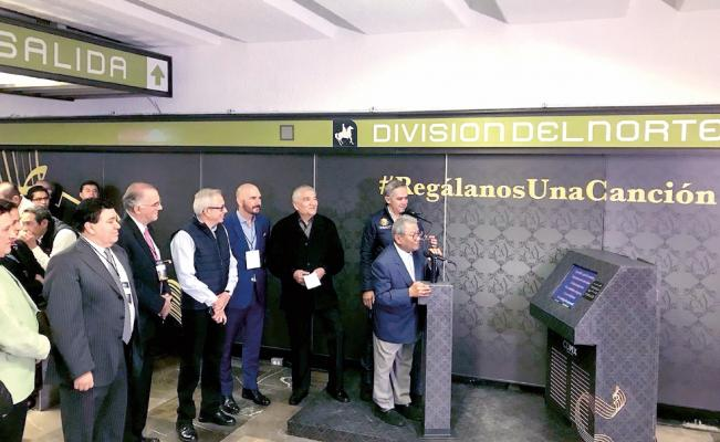 Rinden homenaje a compositores en el Metro https://t.co/tnFRtgsPnT htt...