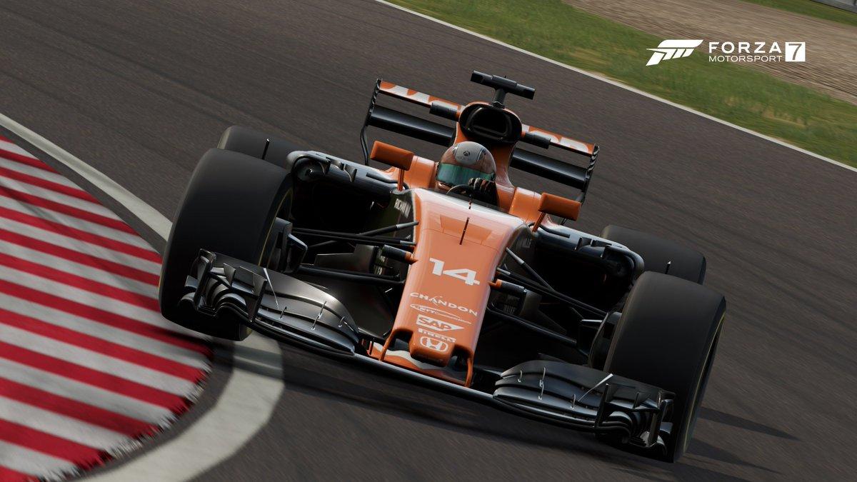 the 2017 @McLarenF1 livery shared on #ForzaMotorsport7  GT MID LAND ZETA #WFG #Formula1 @ForzaMotorsport #FernandoAlonso #Simracing #Honda <br>http://pic.twitter.com/F9iARtD6JK
