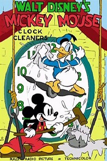 Clock Cleaners with #Mickey, #Donald &amp; #Goofy was released on this day in 1937. #DisneyHistory #DisneyAnimation #VintageDisney #Disney<br>http://pic.twitter.com/bMlHRIL8Q4
