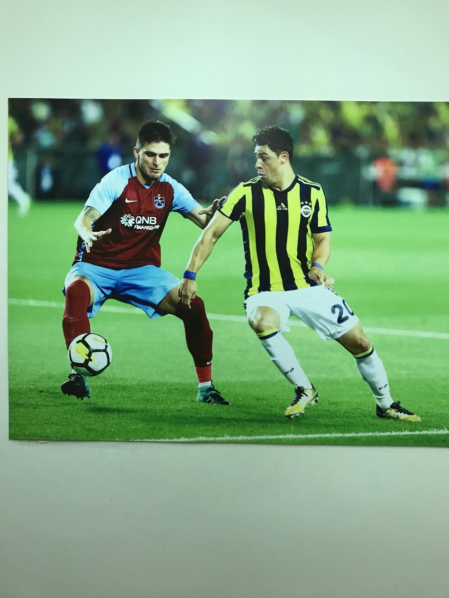 Fenerbahçe'nin stadında basın tribününe...