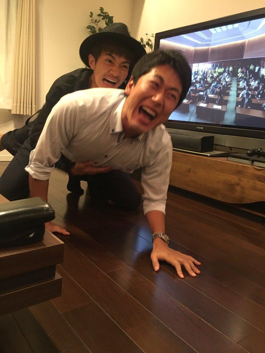 シーンを再現する和田正人