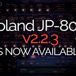 New post (Roland JP-80x0 Update - Version 2.2.3) has been published on Mystery Islands Music - https://t.co/fVXeuLtui1