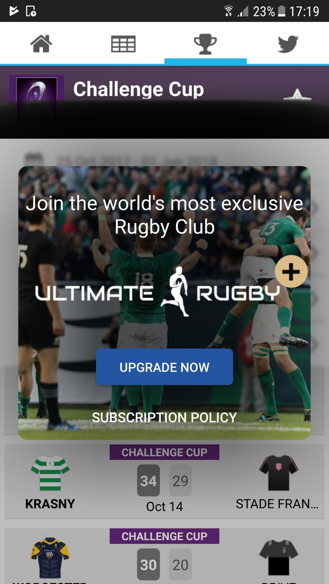 @ultimaterugby has made me so angry I spilled my pecan vanilla late. #paywall how am I supposed to follow all the hip emerging teams like #krasny<br>http://pic.twitter.com/VmnSfooqq3