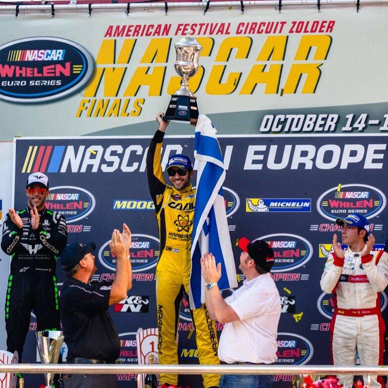Alon Day, 2017 NASCAR Whelen Euro Series champion
