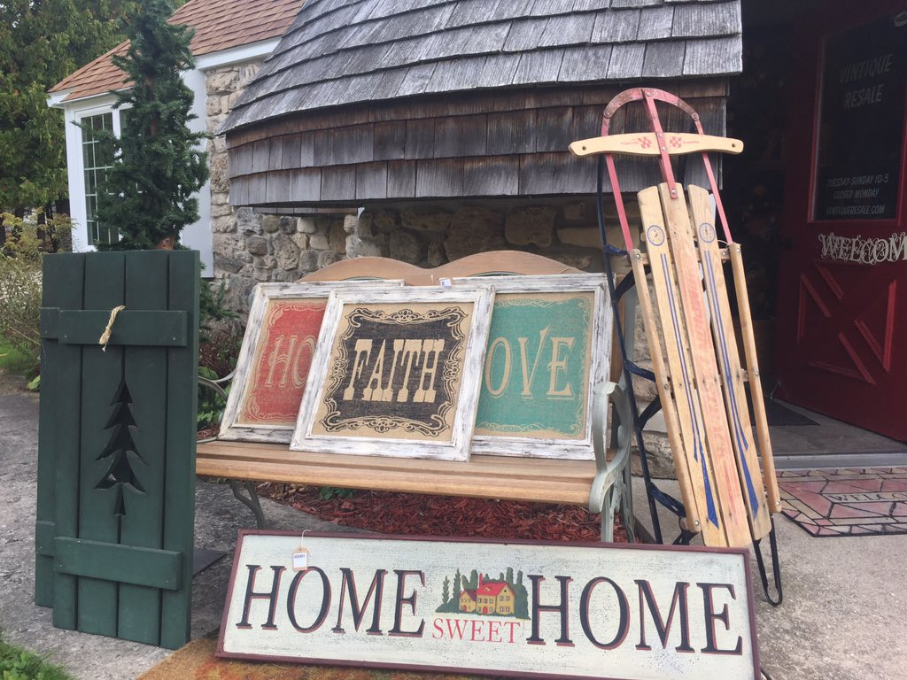 The wind has kept our &#39;Open&#39; signs in, but we are definitely open till 5:00 today! #visitus #resalefun #ephraim #doco #doorcounty<br>http://pic.twitter.com/jvoy3W7PQR
