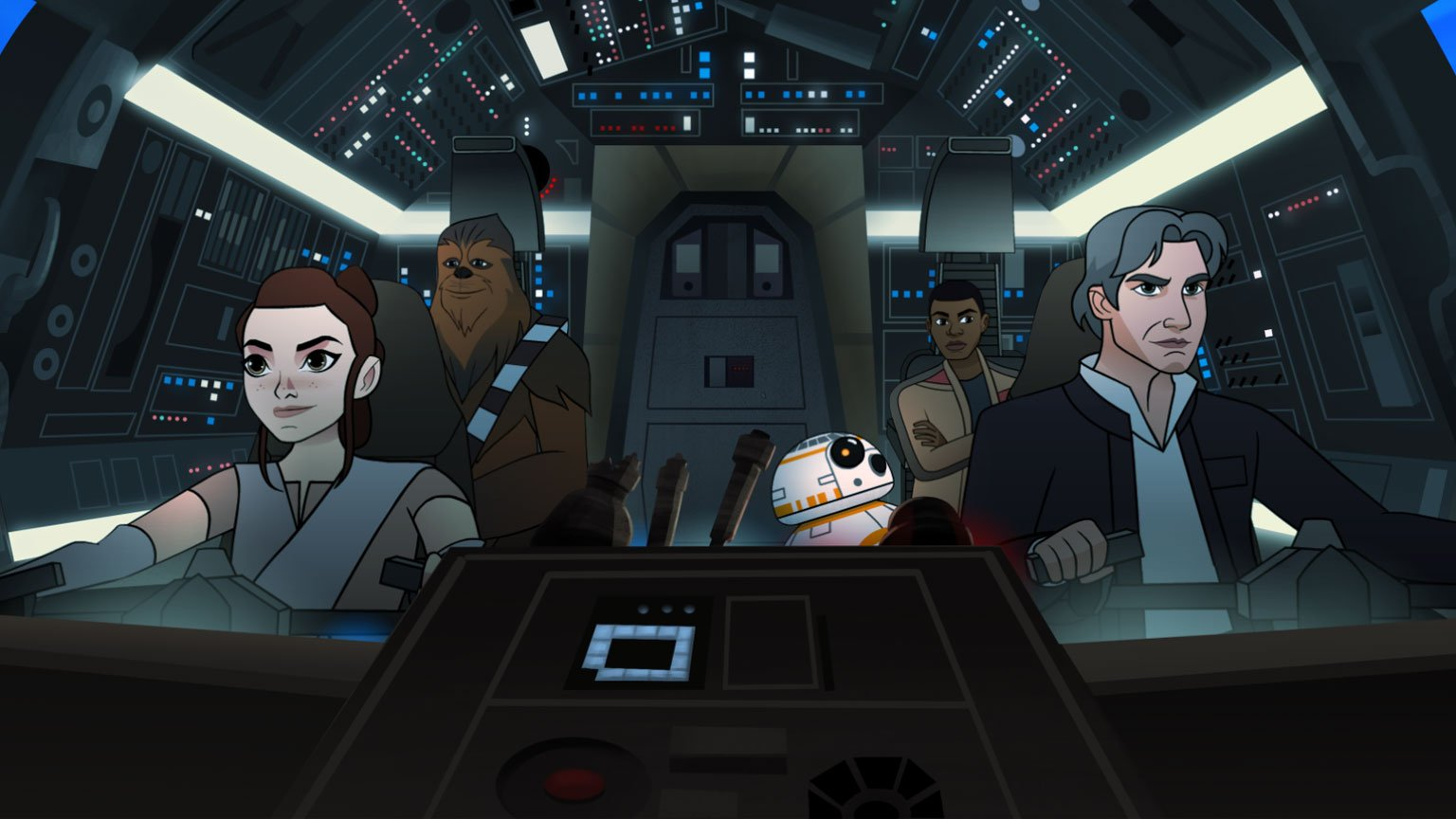 """A funny thing happens on the way to Maz Kanata's castle in Star Wars #ForcesOfDestiny: """"Tracker Trouble."""" https://t.co/lL5JEDEXGM"""