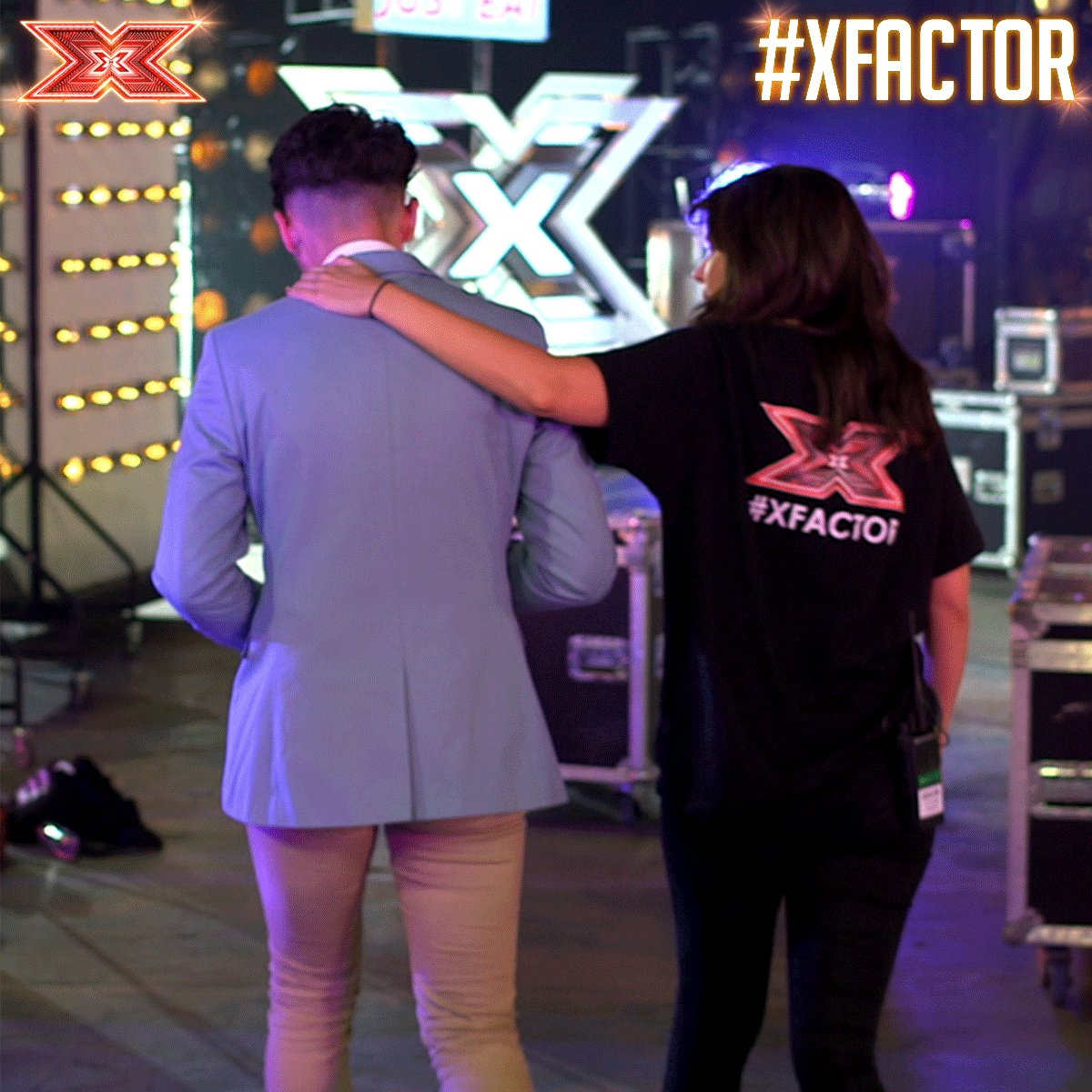 Oh man... Looks like it's the end of the road for @russell20111 😢😢😢 #SixChairChallenge #XFactor https://t.co/8XBSe9mOFC