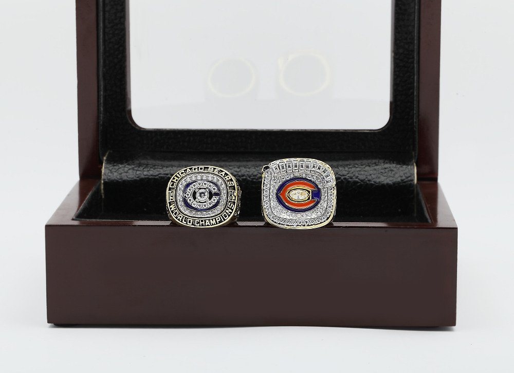 Rings set with engraving