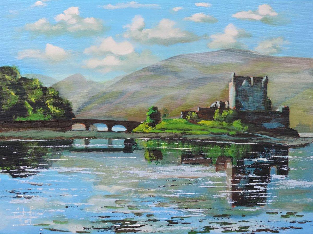 New painting listed - Eilean Donan castle @artfinder #art #painting  https://www. artfinder.com/product/eilean -donan-castle-2b3c/#/ &nbsp; … <br>http://pic.twitter.com/fuKUGJRUwr