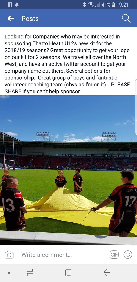 Looking for sponsorship for @THCu11s #rugbyleague #juniorrugby #rugbyleaguefamily<br>http://pic.twitter.com/dbh9mZVHju